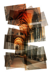 inside church collage