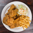 Fried chicken meal - 58574682