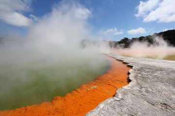 Geothermal Hot Spring Pool