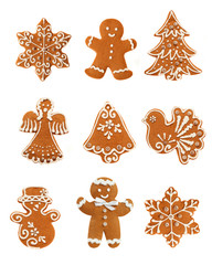 Gingerbread Christmas Set