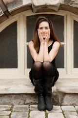 Smiling Woman,