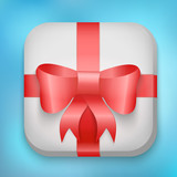 Vector Design Gift Icon for Web and Mobile