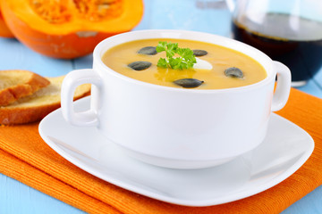 Kürbiscremesuppe - Pumpkin soup