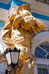 Atlantis Statue. St Petersburg, Russia