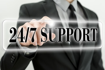 Always awailable support