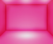 Pink Empty Room Backdrop