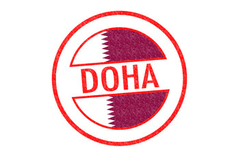DOHA Rubber Stamp
