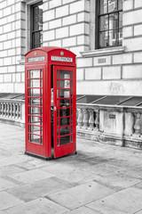 English call box in London