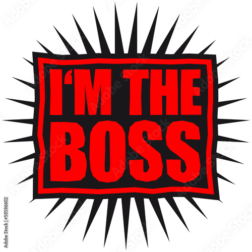 I'm The Boss Logo