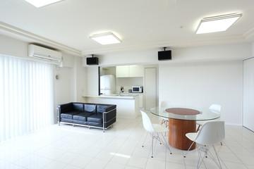 マンション、住宅のリビングルーム