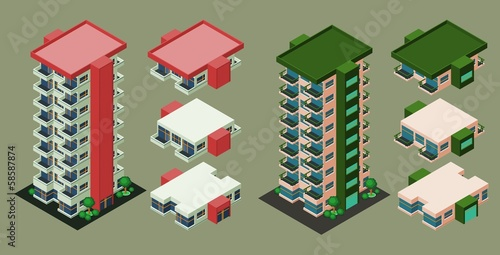 Isometric Building