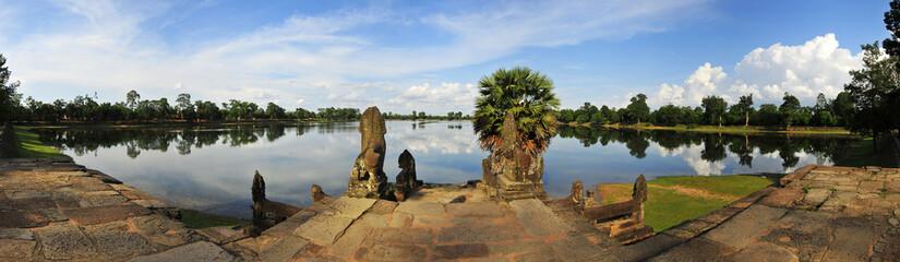Sra Srang, Royal Swimming Pool, Angkor Wat, Cambodia