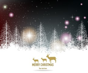 beauty christmas background
