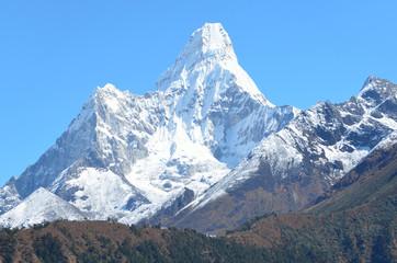 Непал, Гималаи, пик Амадаблам (Ама-Даблам)