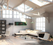 Cottage Loft (focus)