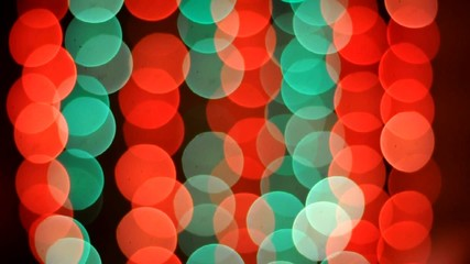 Lighting bokeh background