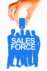 Sales force concept