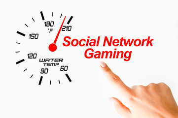 Social network gaming concept