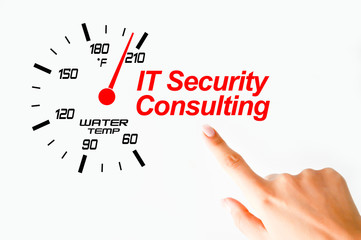 It security consulting concept