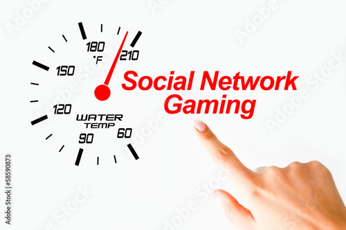 Social network gaming concept