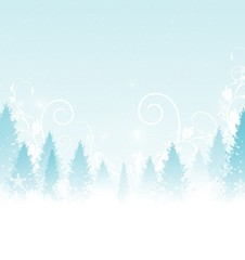 Beauty Winter Background