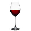Red wine glass isolated - 58591427