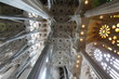La Sagrada Familia, the unrealistic cathedral designed by Gaud i