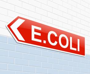 E coli concept.