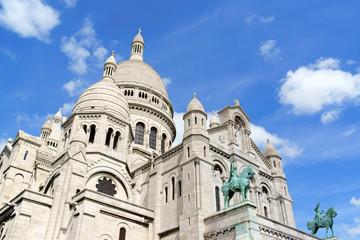 Basilica of the Sacred Heart (Basilique du Sacre-Coeur), Paris,