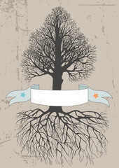 Tree and Banner