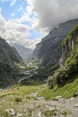 Vallée de haute montagne, Le Cirque Du Fer à Cheval