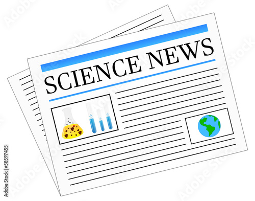 Science News Newspaper Headlines