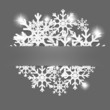 Christmas decoration background. Vector illustration.