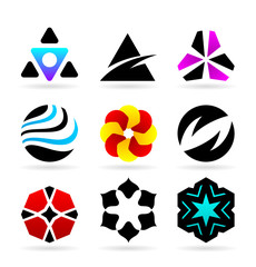 Collection Of Abstract Symbols (18)