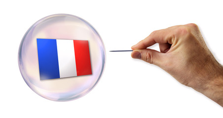 The French economic bubble about to be exploited