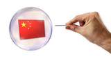 Chinese economic Bubble about to explode by a needle