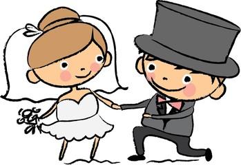 Мультфильм свадебные фотографии