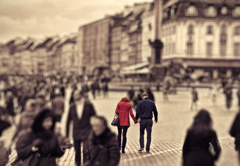 Love in the city center