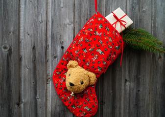 Nikolausstiefel mit Päckchen