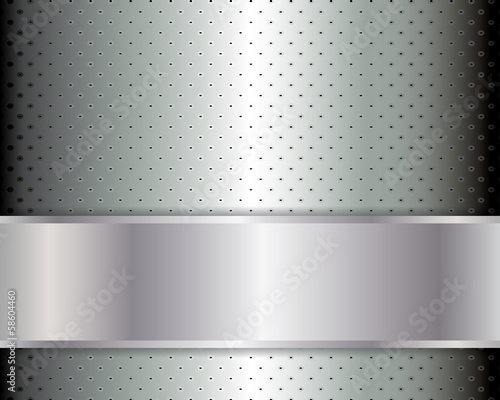 Abstract background, metallic brochure
