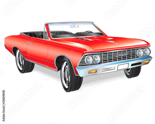 1966 Chevelle SS Drawing