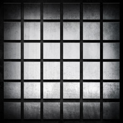 iron grid background