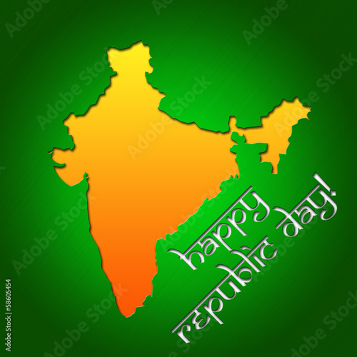 Graphic design Republic Day in India related