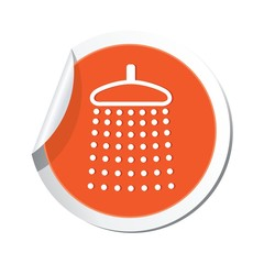 Shower icon. Vector illustration
