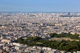 Paris, France top view on Notre Dame de Paris