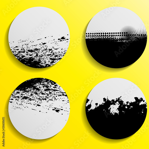 Obraz na Plexi Abstract banners