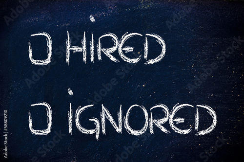 hired or ignored: recruitment process outcome
