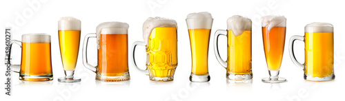 Aluminium Bier beer glass