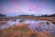autumn sunrise over swamp Poepedobbe