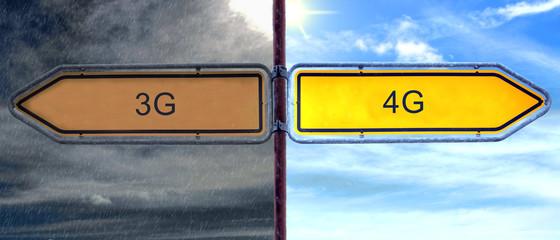 Strassenschild 2 - 4G